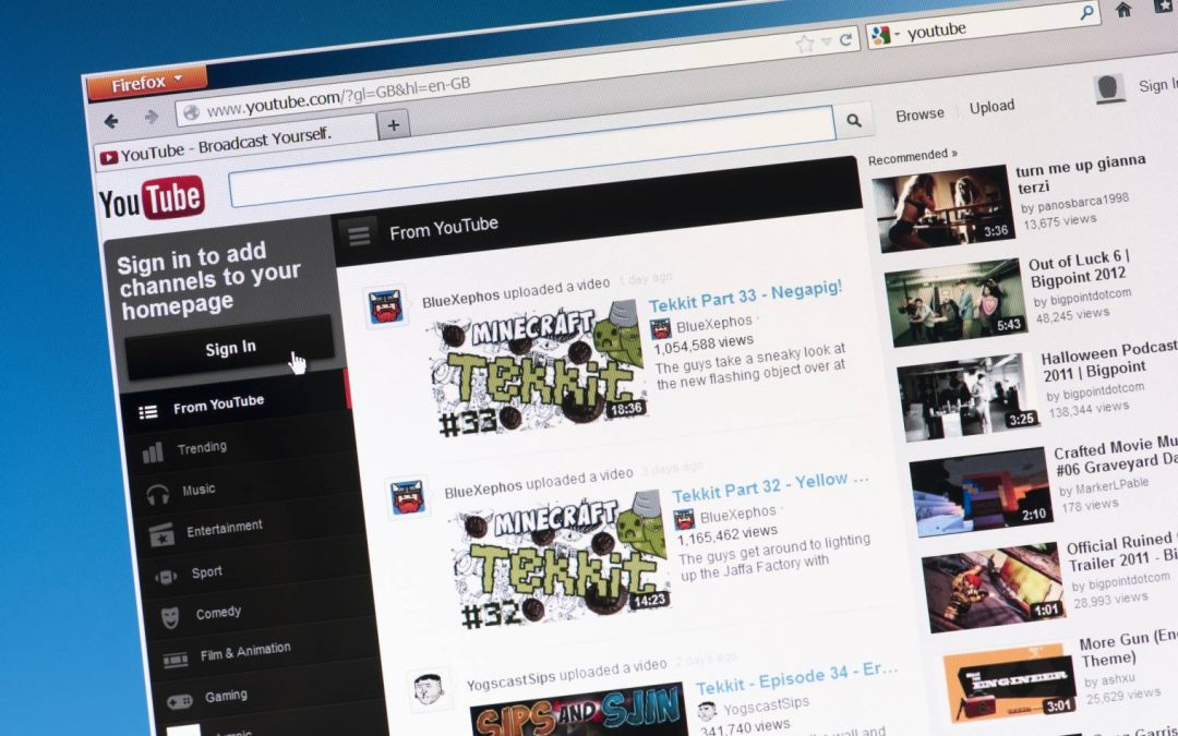 Comment capturer des emails sur YouTube ?